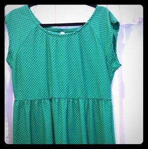 Xhiliration green dress. Xxl.